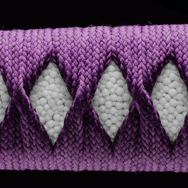 Purple cotton - Made in China