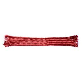 Dark red silk - Made in China