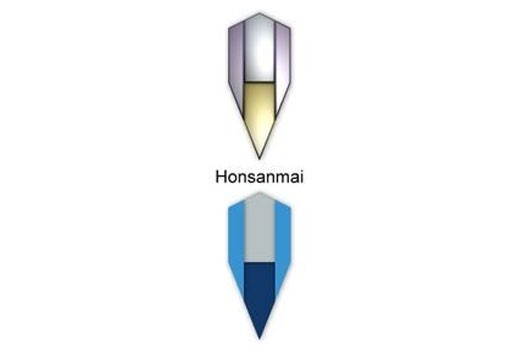 Honsanmai Acero AISI 1045 + 1060 + 1095